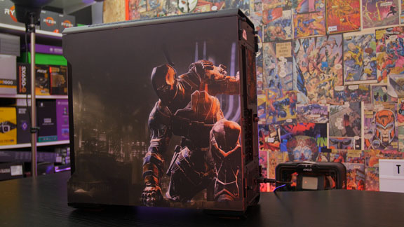 Deathstroke Case Back